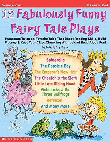 9780439153898: 12 Fabulously Funny Fairy Tale Plays