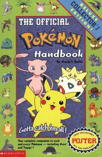 Pokemon: Official Pokemon Handbook: Deluxe Collecters' Edition: Barbo, Maria S.