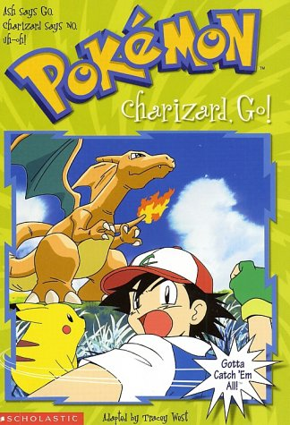 9780439154215: Charizard, Go! (Pokemon Chapter Books, No. 6)