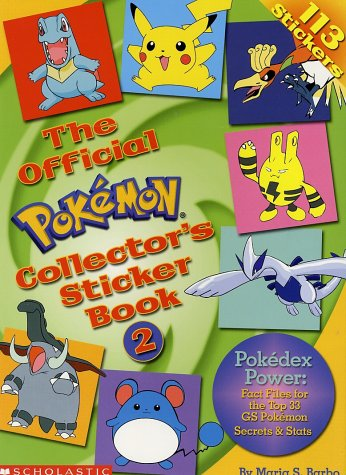 9780439154246: The Official Pokemon Collector's Sticker Book: 2
