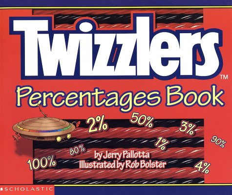 9780439154307: Twizzlers Percentages Book