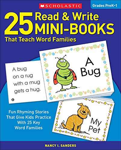 9780439155878: 25 Read & Write Mini-Books That Teach Word Families: Fun Rhyming Stories That Give Kids Practice With 25 Keyword Families