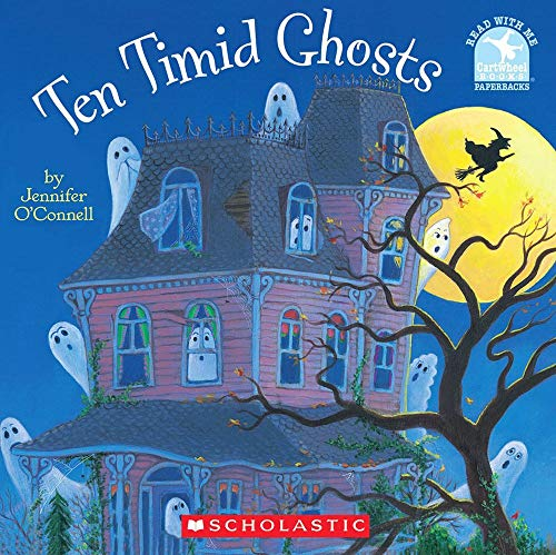 9780439158046: Ten Timid Ghosts (Read With Me Paperbacks)