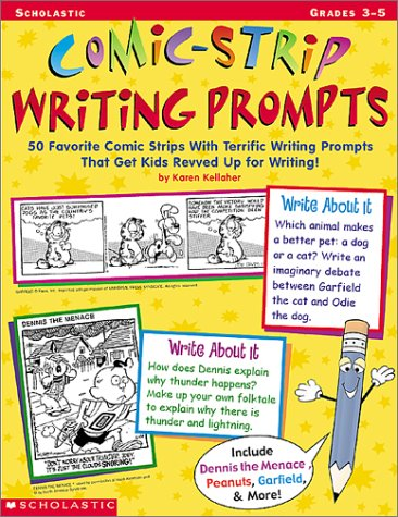 9780439159777: Comic-Strip Writing Prompts: Grades 3-5