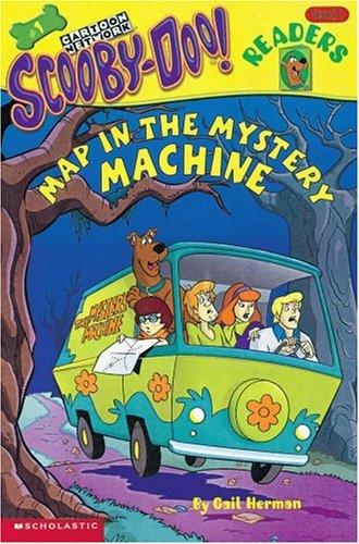 9780439161671: Scooby-Doo! Readers: Map in the Mystery Machine (Level 2)