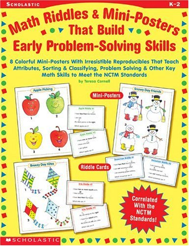 Math Riddles & Mini-Posters that Build Early: Cornell, Teresa