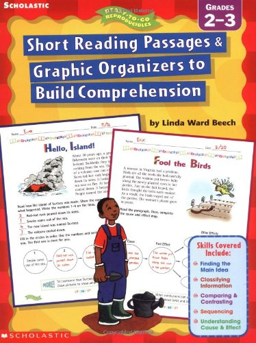 9780439163583: Short Reading Passages & Graphic Organizers to Build Comprehension, Grades 2-3