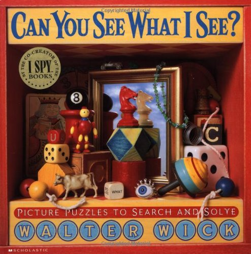 9780439163910: Can You See What I See?: Picture Puzzles to Search and Solve