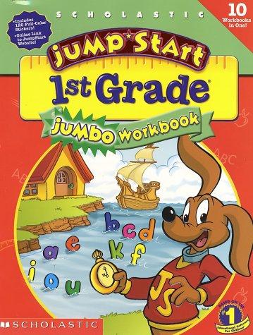 Jumpstart 1st Grade Jumbo Workbook By Dina Anastasio Audrey