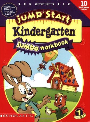9780439164177: Jumpstart Kindergarten: Jumbo Workbook (jan)