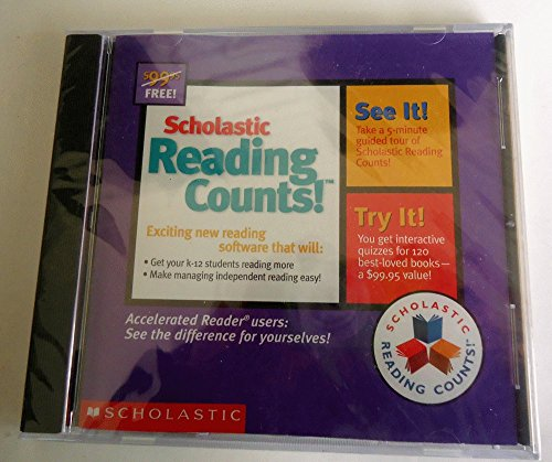 9780439164443: Scholastic Reading Counts! Introductory Software Package (Interactive CD) Quizzes