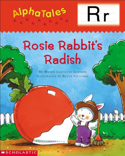 9780439165419: AlphaTales (Letter R: Rosey Rabbit's Radish): A Series of 26 Irresistible Animal Storybooks That Build Phonemic Awareness & Teach Each letter of the Alphabet
