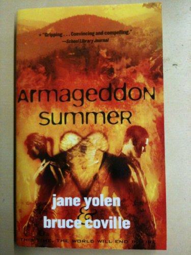 9780439165563: Armageddon Summer