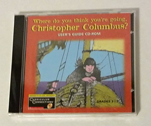 9780439166157: Where Do You Think You're Going, Christopher Columbus : Users Guide CD-ROM