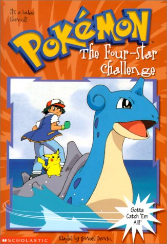 The Four-Star Challenge (Pokemon Chapter Books)