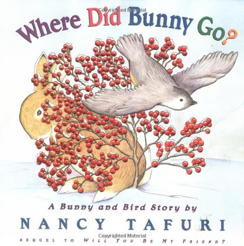 Where Did Bunny Go?: A Bunny and Bird Story: Tafuri, Nancy