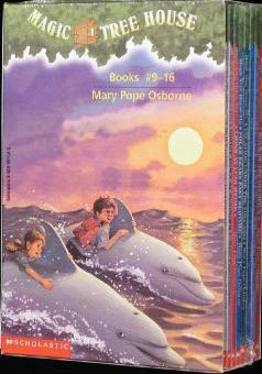 Magic Tree House Books Boxed Set 9-16
