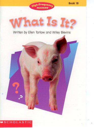 What is It? (High Frequency Readers) (No. 16): Ellen Tarlow
