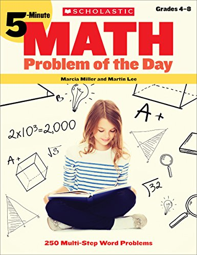 9780439175395: 5-Minute Math Problem of the Day: 250 Multi-Step Word Problems