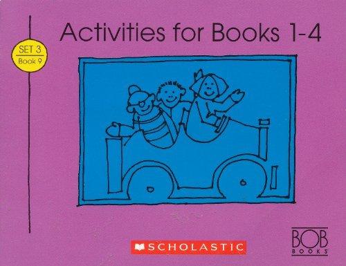 Activities for Books 1-4 (Bob Books Kids! Level B, Set 1, Book 9): Maslen, Bobby Lynn