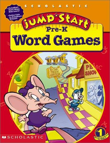 9780439176521: JumpStart Pre-K Word Games Workbook
