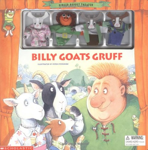 9780439176798: Finger Puppet Theater: Billy Goats