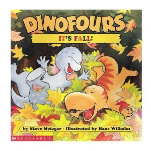 9780439179584: It's Fall (Dinofours)