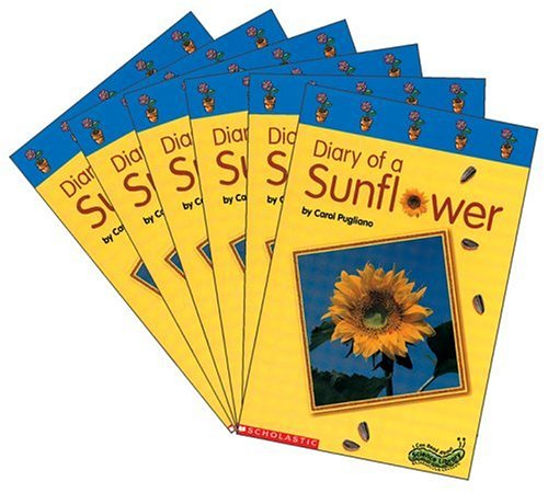 9780439186063: Super-Science Readers: Diary of A Sunflower: Colorful and Engaging Books on Favorite Thematic Topics for Guided Independent Reading