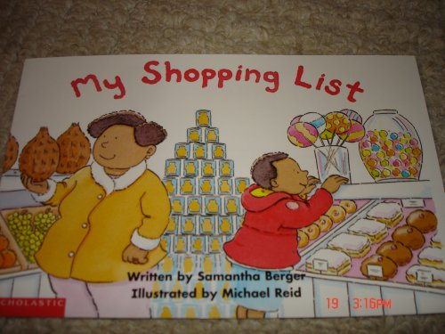 9780439187923: My Shopping List (Building Language for Literacy Placebook mini-books)