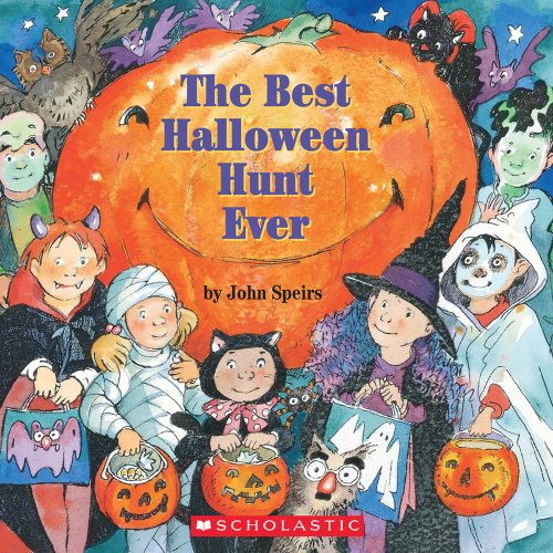 9780439192590: The Best Halloween Hunt Ever (Read with Me Cartwheel Books (Scholastic Paperback))