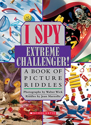 9780439199001: I Spy Extreme Challenger: A Book of Picture Riddles