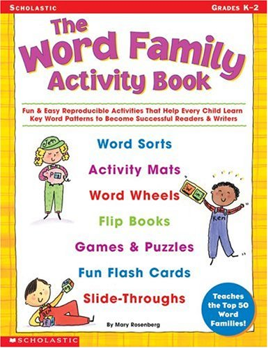 The Word Family Activity Book: Fun &: Rosenberg, Mary