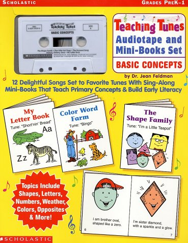 9780439199377: Teaching Tunes Tape & Mini Books Set: Basic Concepts: 12 Delightful Songs Set to Favorite Tunes with Sing-Along Mini-Books That Teach Primary Concepts