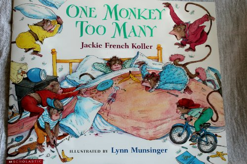 9780439201155: One Monkey Too Many