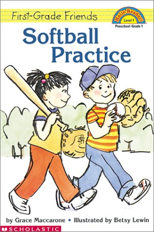 9780439201391: Softball Practice (Scholastic Reader, Level 1)