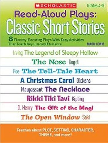 9780439204569: Scholastic Read Aloud Plays Classic Short Stories