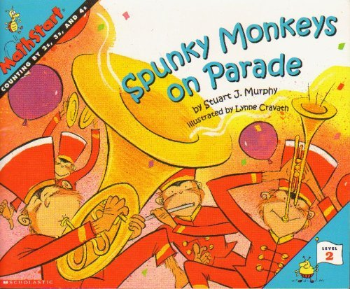 9780439207508: Spunky Monkeys on Parade (Mathsmart)