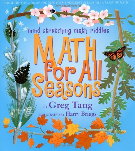 9780439210423: Math For All Seasons: Mind-Stretching Math Riddles