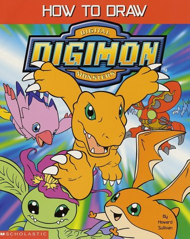 9780439210584: How to Draw Digital Digimon Monsters
