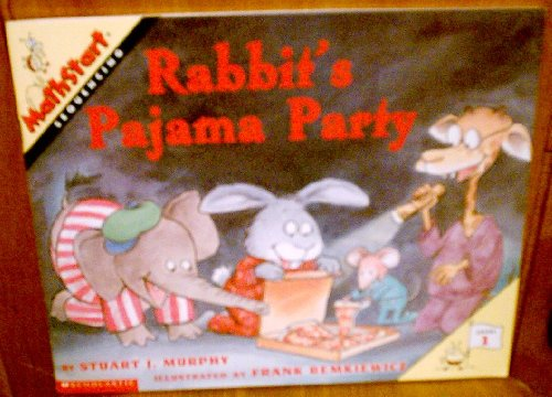 9780439211321: Rabbit's pajama party (MathStart)
