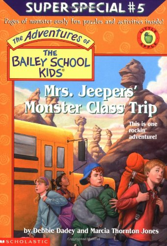 9780439215855: Mrs. Jeepers' Monster Class Trip (The Adventures Of The Bailey School Kids)