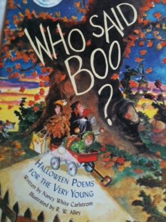 9780439217484: Who said boo?: Halloween poems for the very young