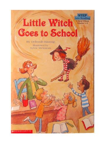 9780439222020: LITTLE WITCH GOES TO SCHOOL - STEP INTO READING 3 [Taschenbuch] by