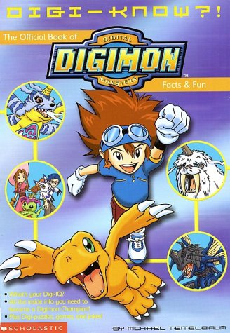 9780439222259: Digi-Know?!: The Official Book of Digital Digimon Monsters Facts and Fun (Digimon (Scholastic Paperback))