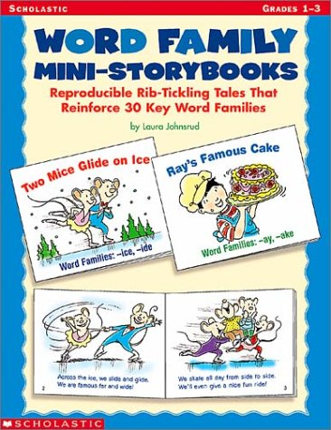9780439222488: Word Family Mini-Storybooks: Reproducible Rib-Tickling Tales That Reinforce 30 Key Word Families