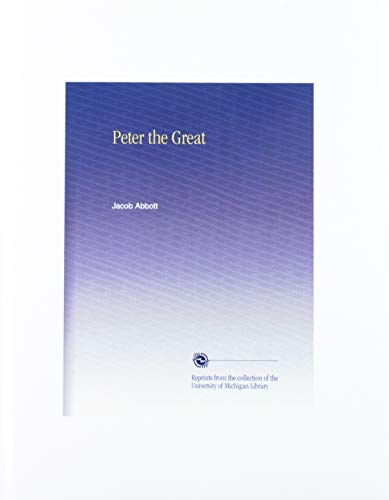 9780439226448: Peter the Great