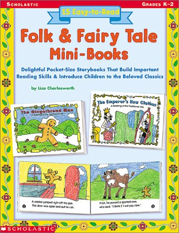 9780439227308: 15 Easy-to-Read Folk & Fairy Tale Mini-Books: Delightful Pocket-Size Story Books that Build Important Reading Skills and Introduce Children to the Beloved Classics