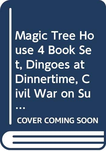 9780439227469: Magic Tree House 4 Book Set, Dingoes at Dinnertime, Civil War on Sunday, Revolutionary War on Wednesday, Twister on Tuesday (20, 21, 22, 23)