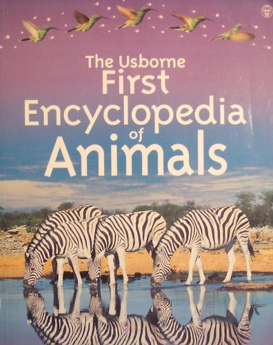 9780439227667: The Usborne First Encyclopedia of Animals