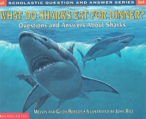 9780439229050: What Do Sharks Eat For Dinner?: Questions and Answers about Sharks